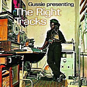 Cover GUSSIE CLARK, presenting the right tracks