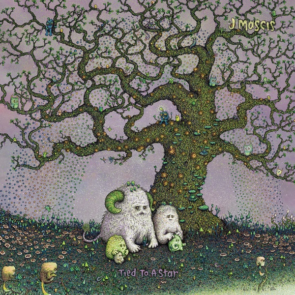 J. MASCIS, tied to a star cover