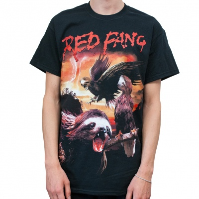 RED FANG, sloth (boy) black cover