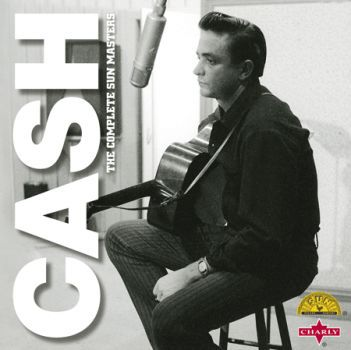 Cover JOHNNY CASH, complete sun masters