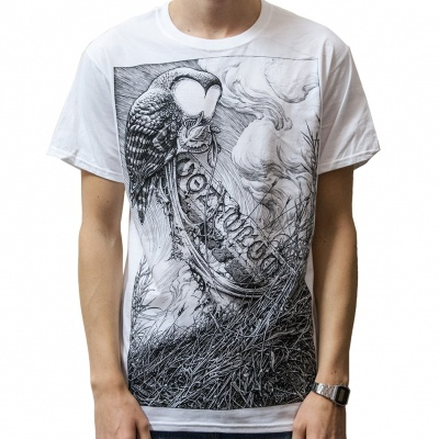 Cover CONVERGE, horkey owl white (boy) white