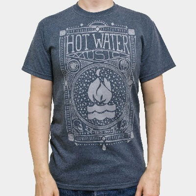 Cover HOT WATER MUSIC, americana (boy) dark heather