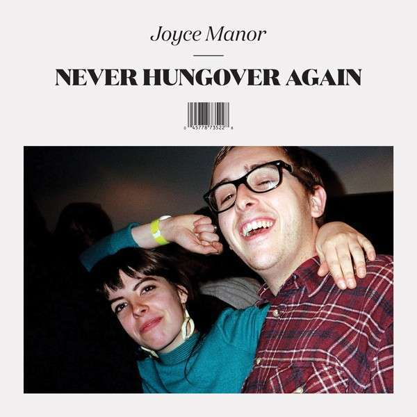 Cover JOYCE MANOR, never hungover again