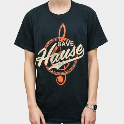 Cover DAVE HAUSE, treble clef (boy) black