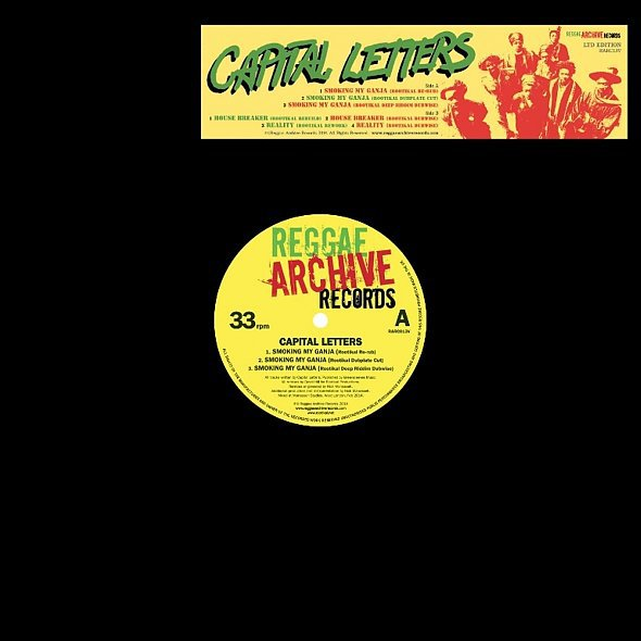 Cover CAPITAL LETTERS, smoking my ganja (rootikal remix ep)