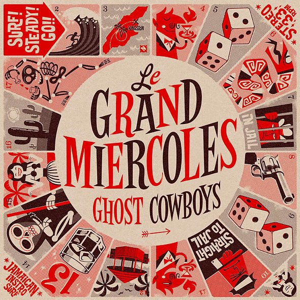 LE GRAND MIERCOLES, ghost cowboys cover