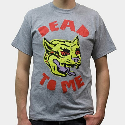Cover DEAD TO ME, cat (boy) sports gray