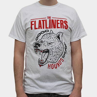Cover FLATLINERS, hounds (boy) white