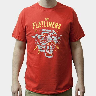 Cover FLATLINERS, panterror (boy) red