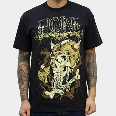 HOWL, viking (boy) black cover