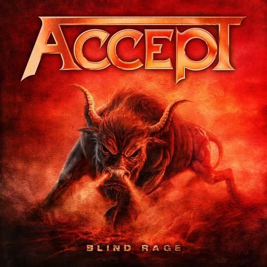 Cover ACCEPT, blind rage