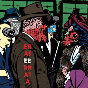 ERASE ERRATA, lost weekend cover