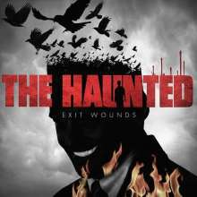 Cover HAUNTED (S), exit wounds