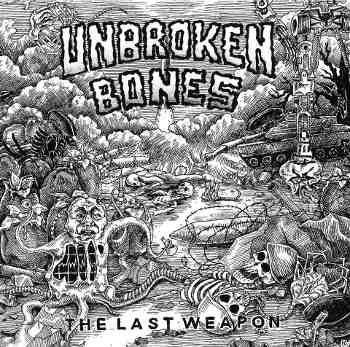 UNBROKEN BONES, s/t cover