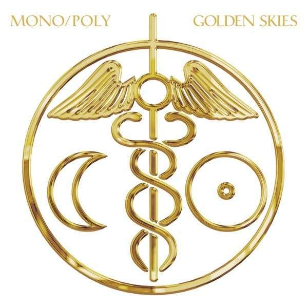 Cover MONO/POLY, golden skies