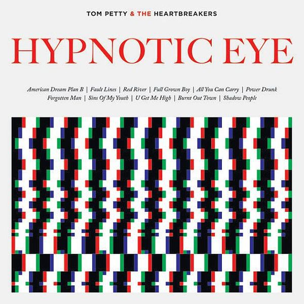 TOM PETTY & THE HEARTBREAKERS, hypnotic eye cover