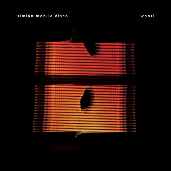 SIMIAN MOBILE DISCO, whorl cover