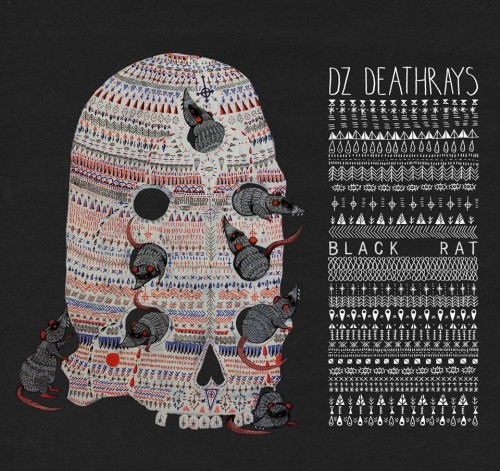 Cover DZ DEATHRAYS, black rat