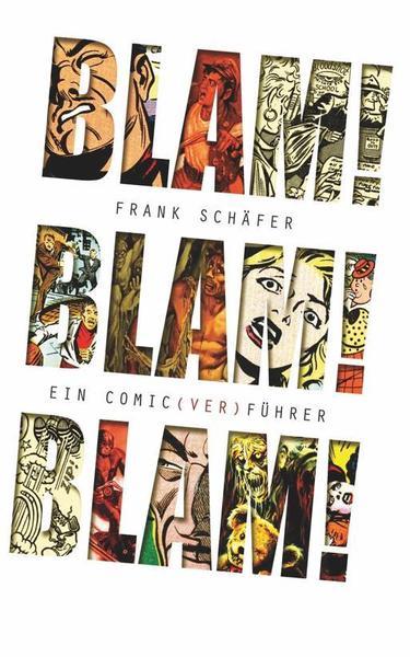 FRANK SCHÄFER, blam! blam! blam! ein comic(ver)führer cover