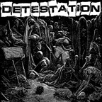 DETESTATION, s/t cover