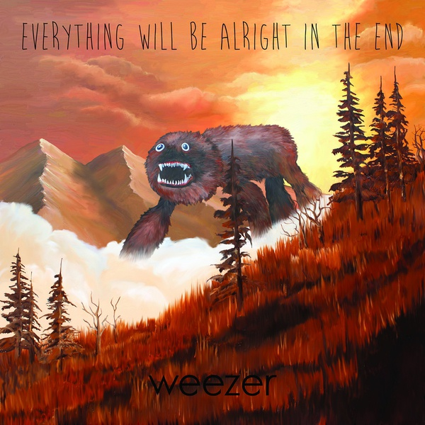 WEEZER, everything will be alright in the end cover