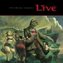 LIVE, throwing copper cover