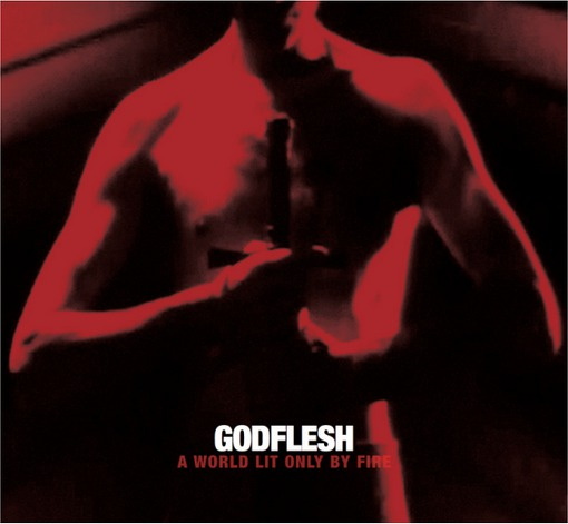 GODFLESH, a world lit only by fire cover
