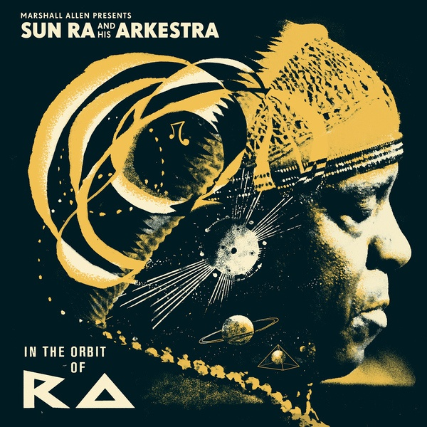V/A, in the orbit of ra - marshall allen pres. sun ra cover