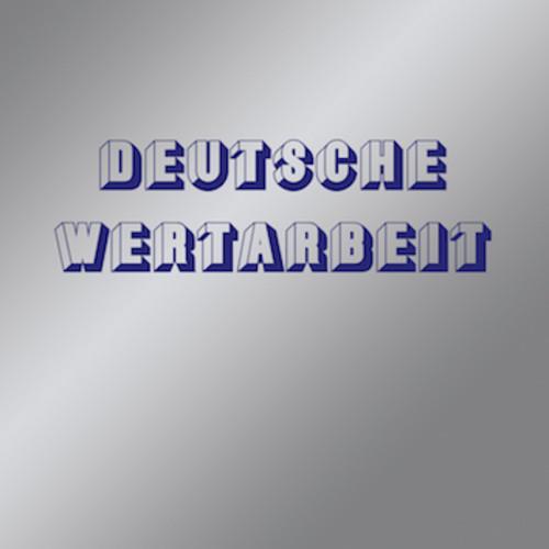 DEUTSCHE WERTARBEIT, s/t cover