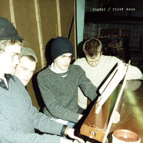 Cover FUGAZI, first demo