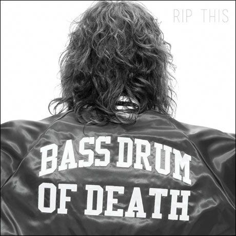 Cover BASS DRUM OF DEATH, rip this