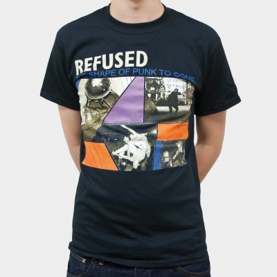 Cover REFUSED, shape of punk (boy) black