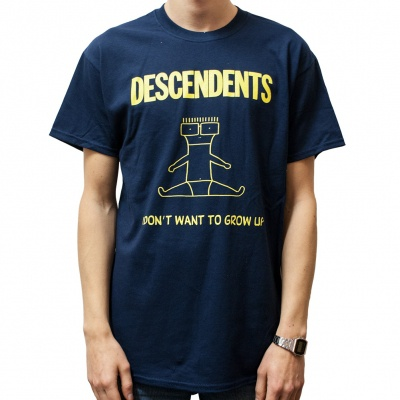 Cover DESCENDENTS, i don´t want to grow up (boy) navy