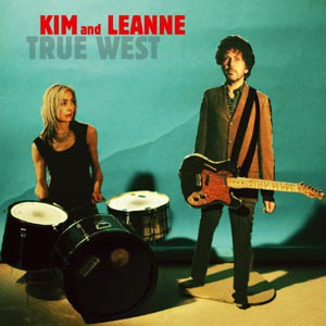 KIM AND LEANNE, true west cover