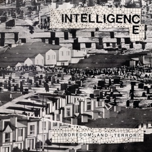 Cover INTELLIGENCE, boredom and terror / let´s toil