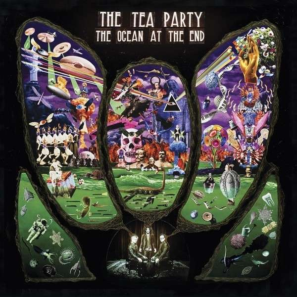 Cover TEA PARTY, the ocean at the end