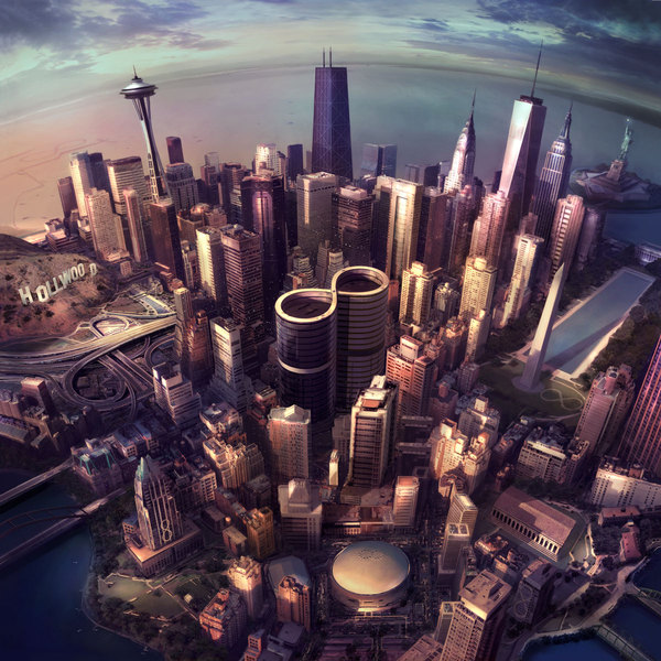 FOO FIGHTERS, sonic highways cover