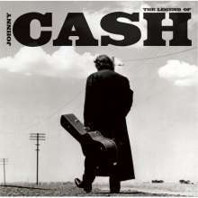 JOHNNY CASH, the legend of... cover