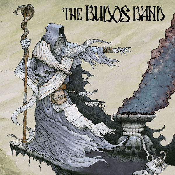 Cover BUDOS BAND, burnt offering