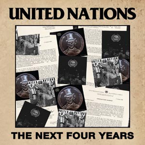 Cover UNITED NATIONS, next four years