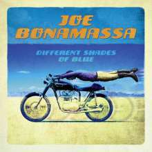 JOE BONAMASSA, different shades of blue cover