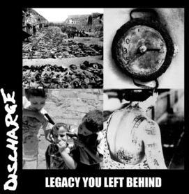 Cover DISCHARGE / OFF WITH THEIR HEADS, split