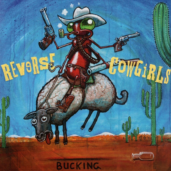 Cover REVERSE COWGIRLS, bucking