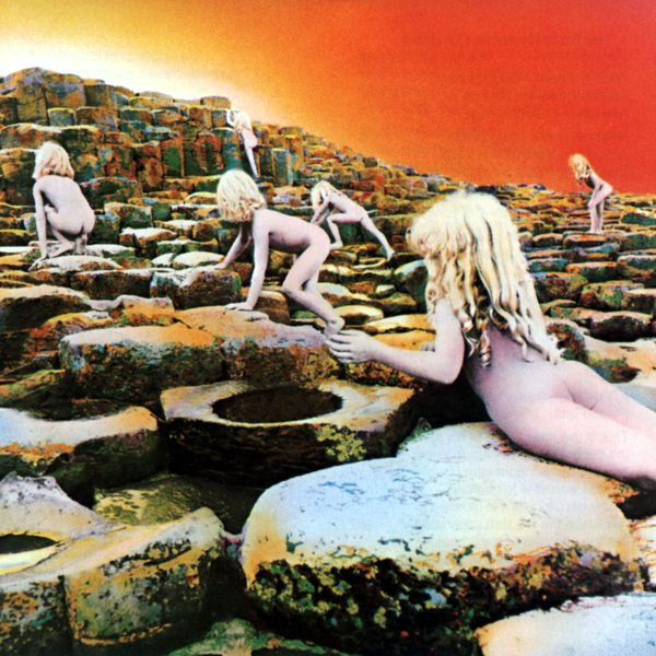 Cover LED ZEPPELIN, houses of the holy (remastered)