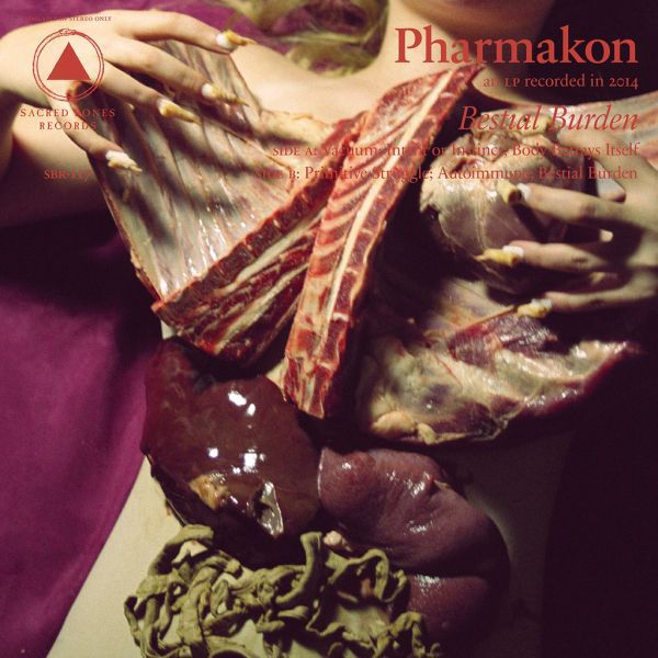 Cover PHARMAKON, bestial burden