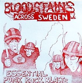 Cover V/A, bloodstains across sweden