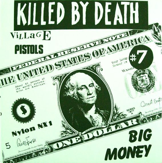 Cover V/A, killed by death vol. 7