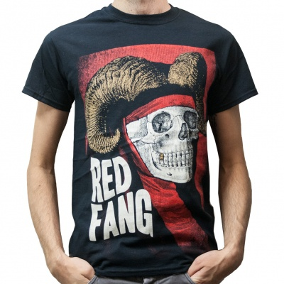 Cover RED FANG, horns (boy) black