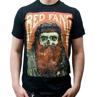 Cover RED FANG, rusty beard (boy) black