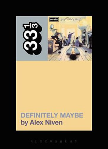 Cover ALEX NIVEN, oasis´ definitely maybe